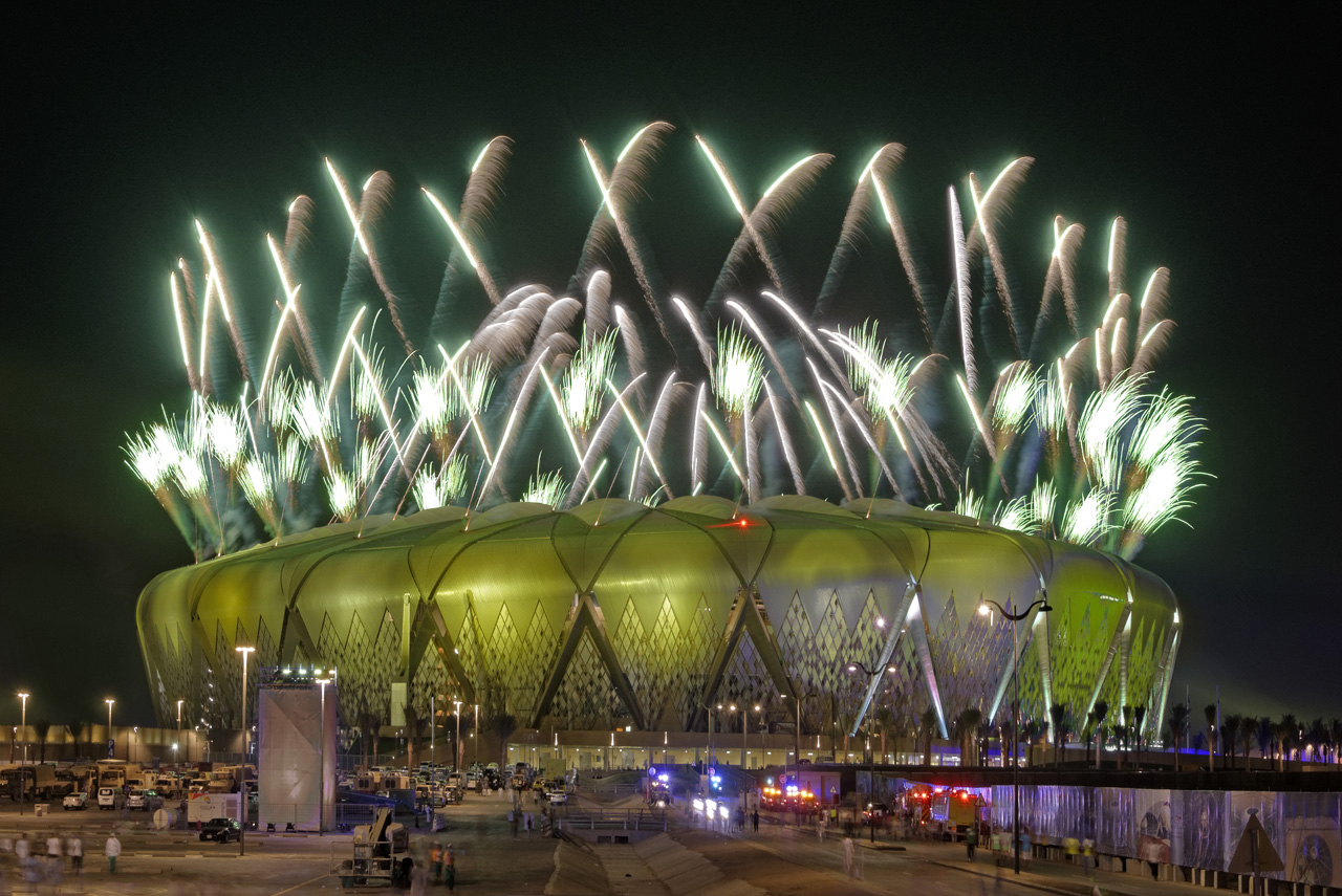 Jeddah - Inauguration of King Abdullah Sport City, GroupeF Fireworks