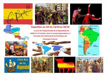 affiche el dia de la hispanidad