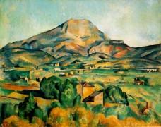 Mont Ste Victoire - Cezanne