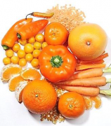 fruits et legumes orange