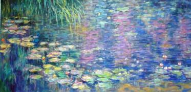 nymphéas-Monet