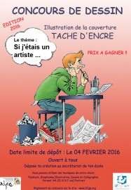 Affiche concours TE 2015 fond rouge