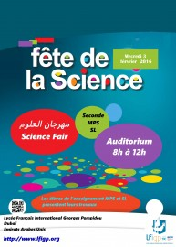 affiche fete science 2016