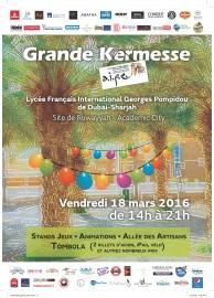 Affiche Kermesse AIPE