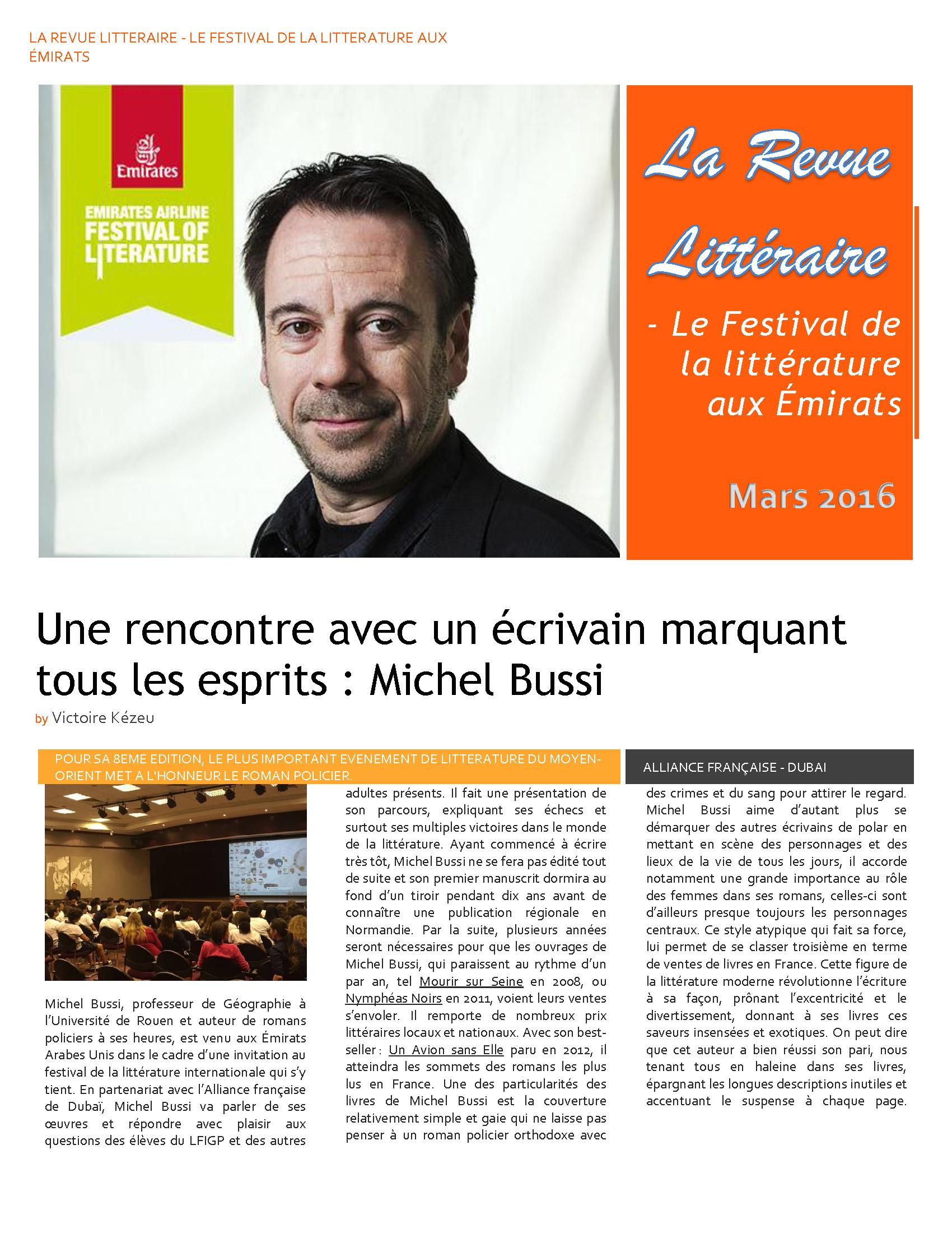 Article - Michel Bussi - Frédérique Trillard